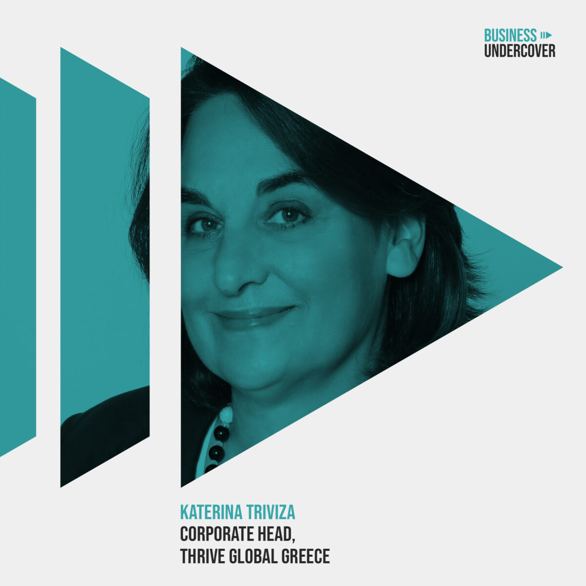 Well-Being: Ευεξία στις επιχειρήσεις για παραγωγικότητα — Κατερίνα Τριβιζά (Thrive Global)